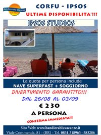 OFFERTISSIMA IPSOS STUDIOS - ULTIME DISPONIBILITA'